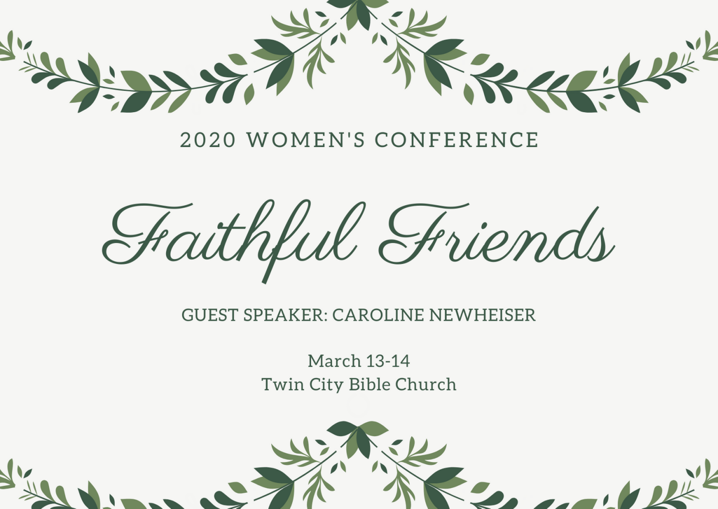 2020 Women's Conference