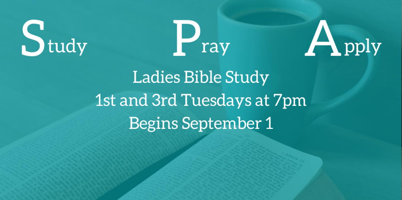 SPA Ladies Bible Study