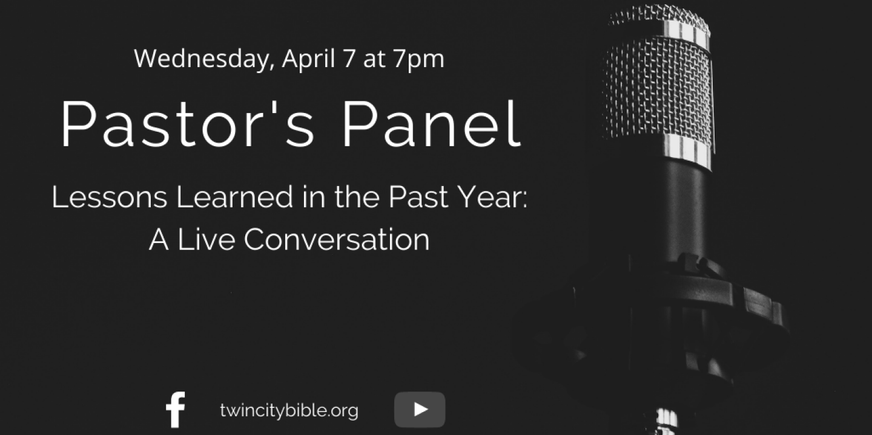 Pastor's Panel